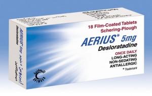 Aerius (desloratadine)