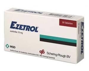 Ezetrol (ezetimibe)