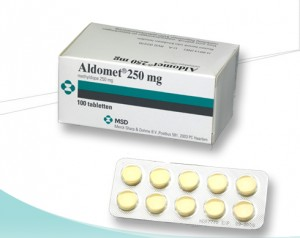 Aldomet (methyldopa) tabletten