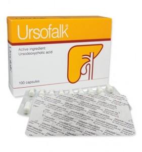 Ursofalk (ursodeoxycholzuur) capsules