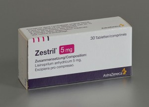 Zestril (lisinopril) tabletten