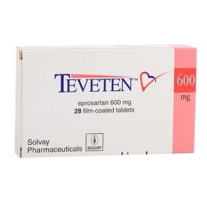 Teveten (eprosartan) tabletten