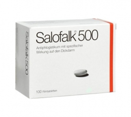 Salofalk (mesalazine) tabletten 500 mg