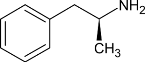 dexamfetamine - molecuulstructuur