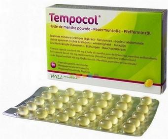 Tempocol (pepermuntolie) maagsapresistente capsules