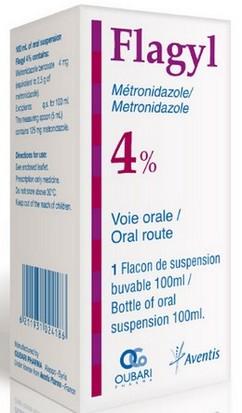 Flagyl (metronidazol) suspensie