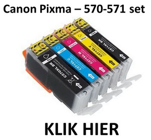 Canon Pixma 570-571 set