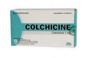 verpakking colchicine