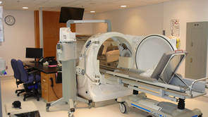 hyperbare zuurstoftherapie - capsule met een behandelplaats