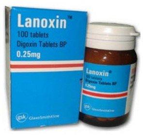 digoxine overdosering met Lanoxin (digoxine) tabletten