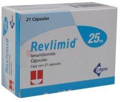 Revlimid (lenalidomide) capsules bij myelofibrose