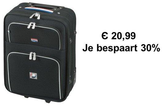 reistassen en koffers in de aanbieding bij Bol