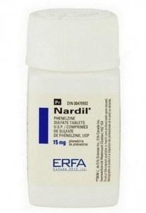 Nardil (fenelzine) tabletten
