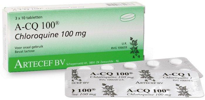 A-CQ 100 chloroquine tabletten