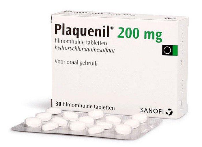 Plaquenil (hydroxychloroquine) tabletten tegen malaria
