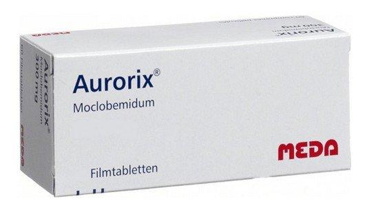 MAO-remmers: moclobemide (Aurorix) tabletten
