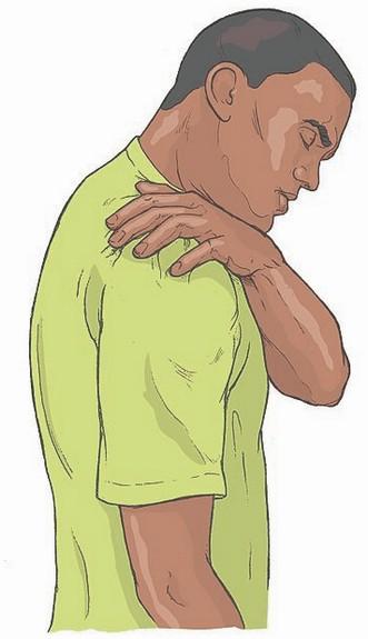 spierpijn in de schouders