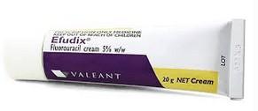 Efudix crème (5-fluorouracil crème)