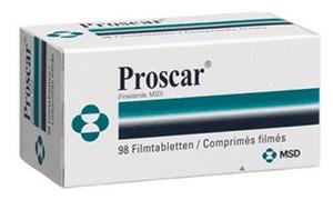 Proscar (finasteride) tabletten
