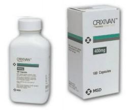 Crixivan (indinavir) tabletten