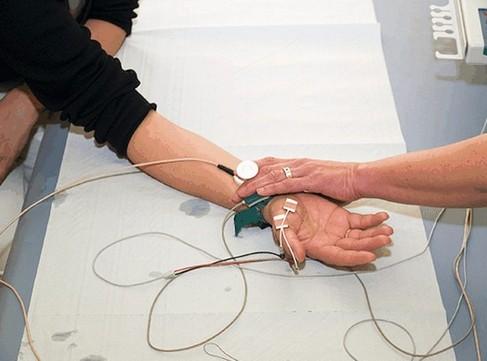 fasciculaties vaststellen met elektromyografisch onderzoek