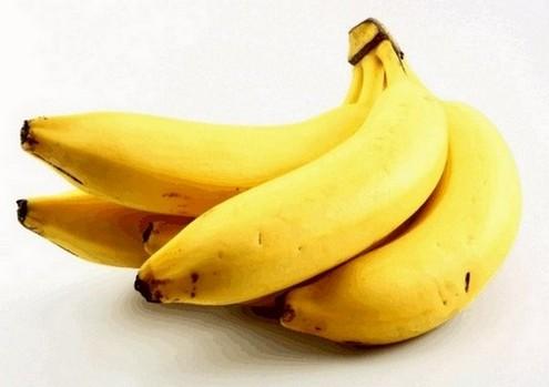 spiertrillingen behandelen door meer bananen te eten (bevatten magnesium)