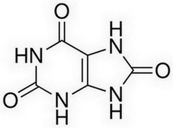 urinezuur molecuulstructuur