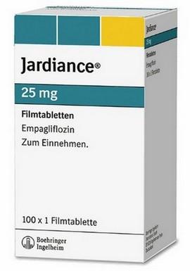 Jardiance (empagliflozine) veroorzaakt glucosurie