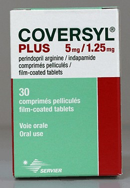 Coversyl (perindopril) tabletten