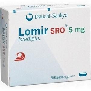 Lomir (isradipine) tabletten