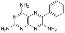 triamtereen molecuulstructuur