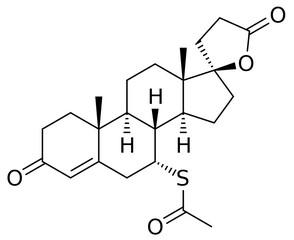 spironolacton molecuulstructuur