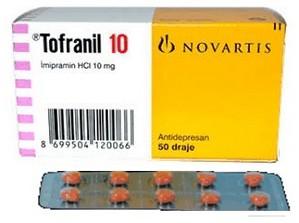 verpakking Tofranil (imipramine)