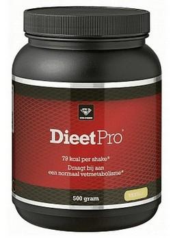 afvallen met shakes - verpakking Dieet Pro