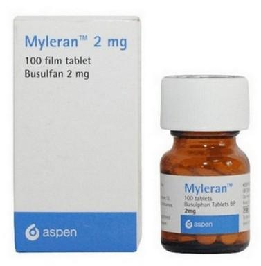 Myleran (busulfan) tabletten