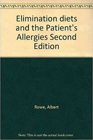 boek van Dr Albert Rowe uit 1941 over het eliminatiedieet