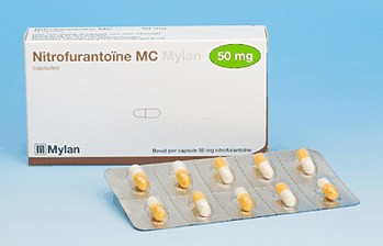 nitrofurantoïne capsules