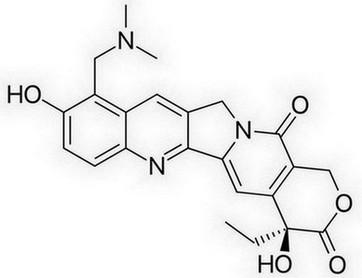 topotecan molecuulstructuur