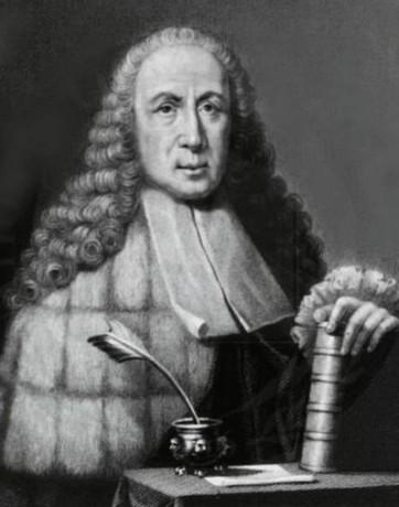 Dr Giovanni Battista Morgagni (1682-1771) - naamgever van de hernia van Morgagni