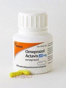 omeprazol wordt gebruikt als maagbeschermer bij mensen met stress gastritis