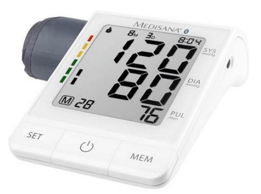 zelf bloeddruk meten - Medisana bloeddrukmeter