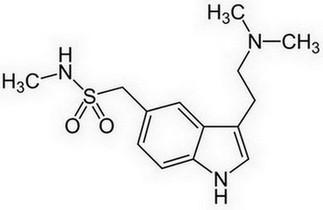 sumatriptan - molecuulstructuur