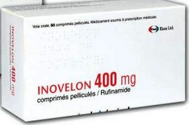 verpakking Inovelon (rufinamide) 400 mg tabletten