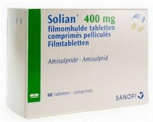 verpakking Solian (amisupride) tabletten