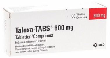 verpakking Taloxa (felbamaat) tabletten
