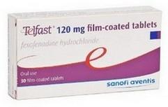 Telfast (fexofenadine) omhulde tabletten