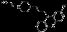 perfenazine - chemische structuur