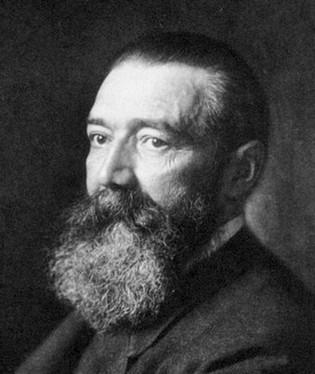 Dr Paul Julius Möbius (1853-1907) - naamgever van het syndroom van Moebius