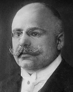 Dr Ludwig Pick (1868-1944) - één van de naamgevers van de ziekte van Niemann-Pick
