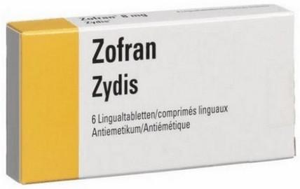 verpakking Zofran (ondansetron) smelttabletten